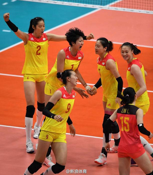 中国女排时隔12年再次夺冠
