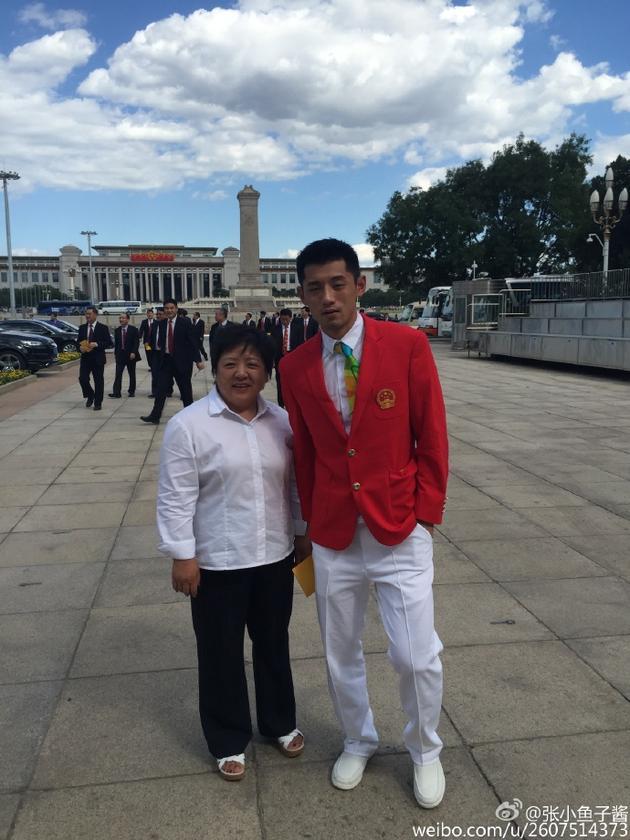 张继科参加里约奥运会中国代表团总结大会