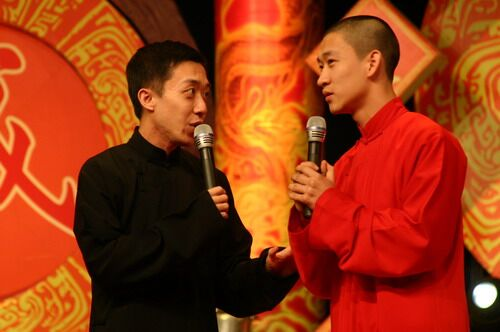 李菁和曹云金昔日同台
