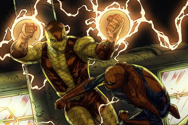 惊悚也是漫画中蜘蛛侠的死敌之一