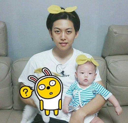 东浩与儿子