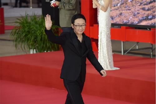陆川出席第三届丝绸之路国际电影节闭幕式