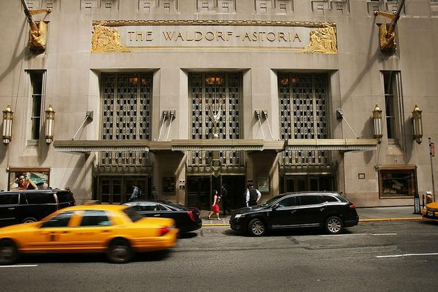 两人还在纽约华尔道夫酒店拥有一套公寓