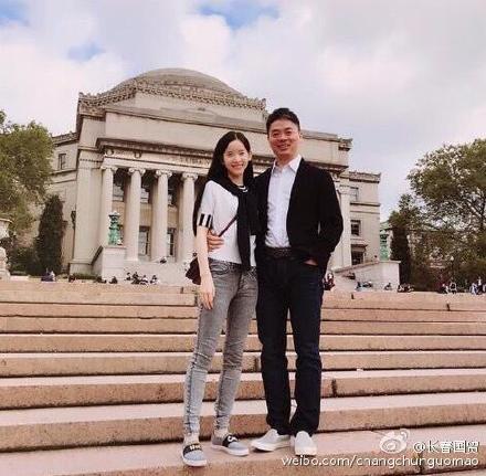 刘强东夫妇