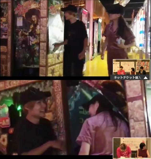 西野未姬与大和田南那被拍到与两名演艺圈男子夜游