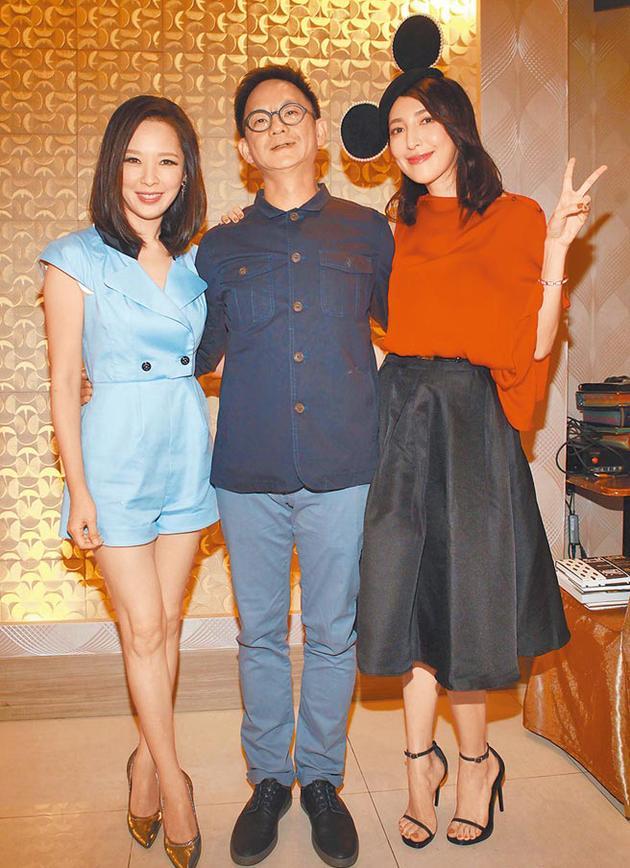 天心(左起)、导演曹瑞原及杨谨华