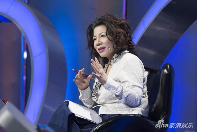 《世界听我说》导师、台湾名嘴陈文茜