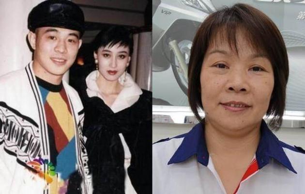 """李连杰后来转爱""""亚姐冠军""""智利(左),黄秋燕(右)则留在美国生活,多年过去她已风华不再"""