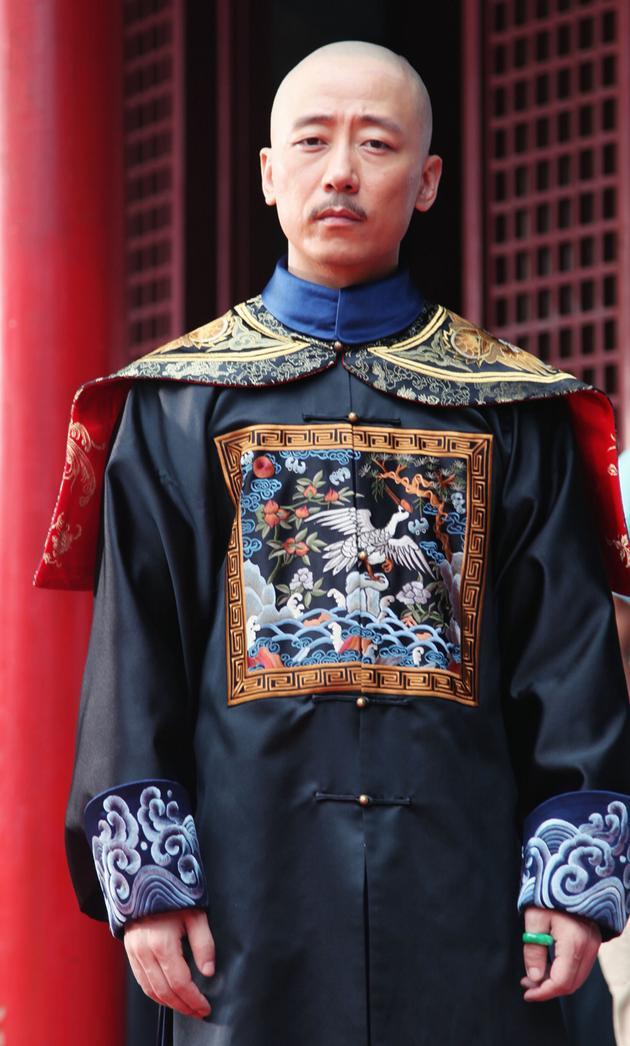 胡明清朝官员造型