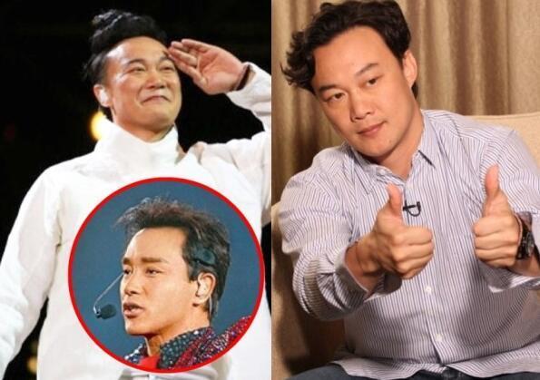 陈奕迅称张国荣让他保养嗓子戒烟