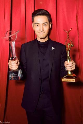 胡歌凭借《琅琊榜》在金鹰节上收获两项重量大奖