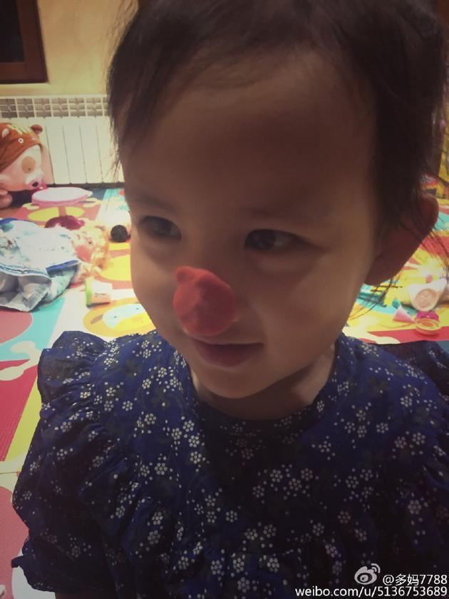 黄磊和孙莉的小女儿
