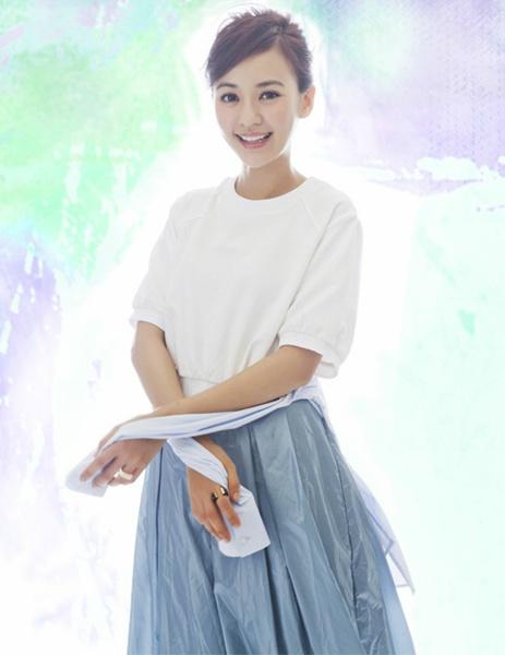 陈意涵拍摄杂志封面