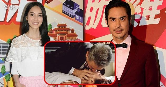陈凯琳表示收到剧本后就已经向郑嘉颖报备了,说这部剧有很大挑战。
