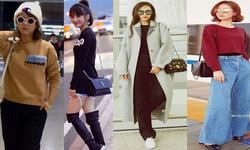 秋冬科普:女星如何时髦换季不着凉?