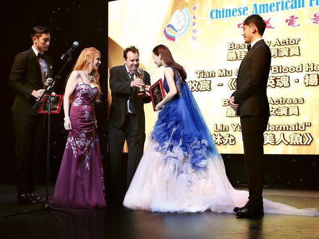 林允中美电影节再获最佳新人奖 感恩获奖 娱乐 第2张