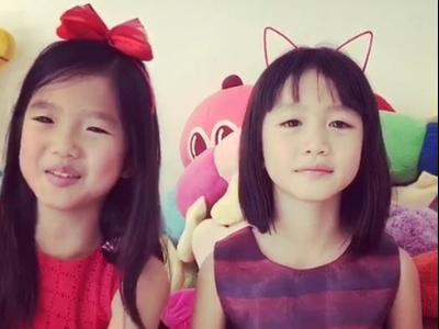 视频:两女儿祝钟丽缇新婚快乐 希望生很多宝宝