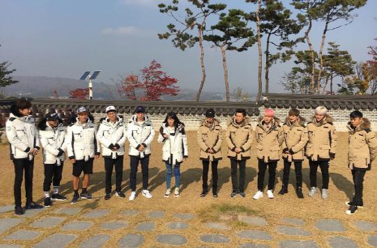 韩国《跑男》继续录节目 水晶男孩任嘉宾