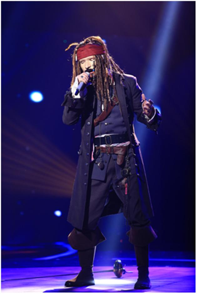 《蒙面》歌手蓝瘦海盗很香菇