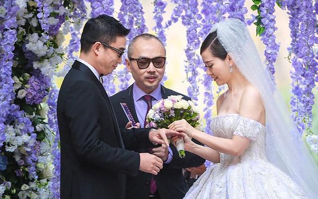 张靓颖冯轲婚礼