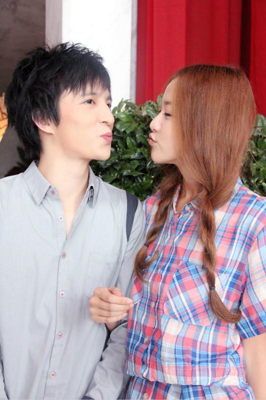 黄一琳献荧屏初吻