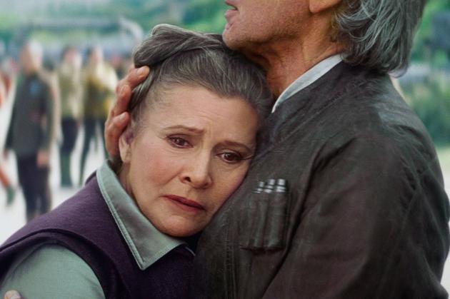 两人不久前在银幕上重逢(《星球大战7》)