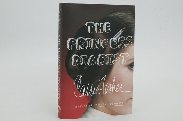费雪自传《公主日记》日前出版