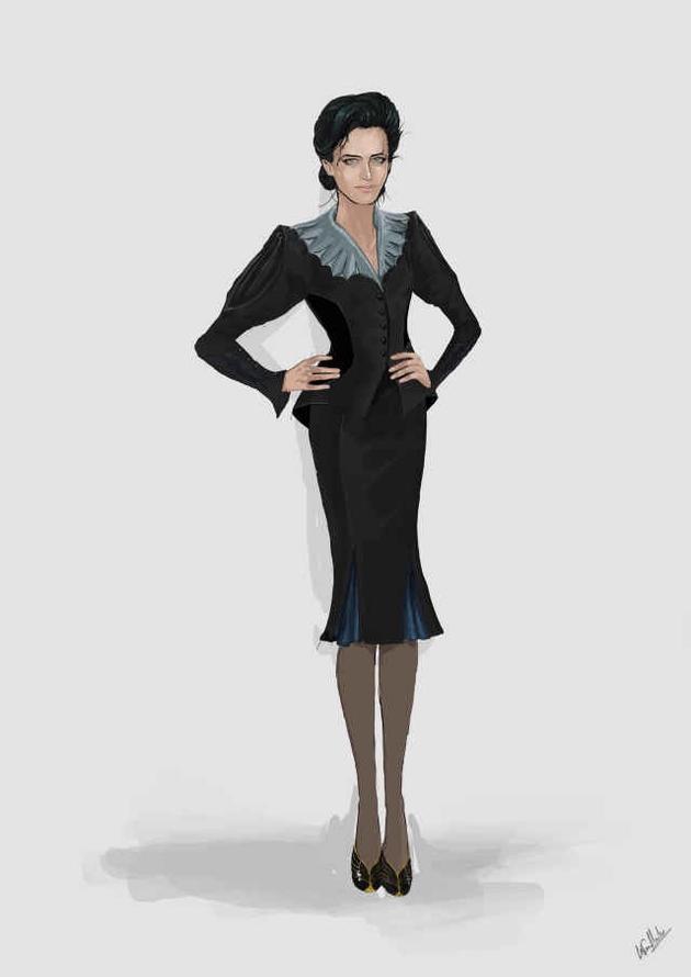 《佩小姐》美术风格化 服装师三获奥斯卡
