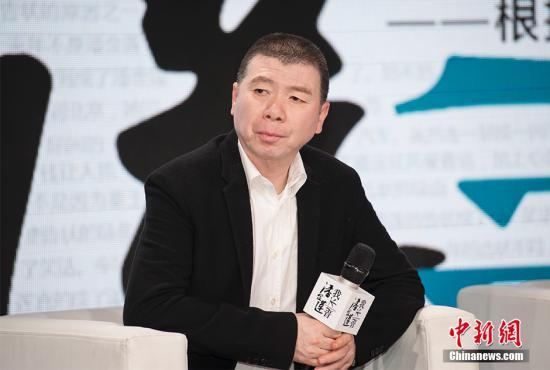 冯小刚(资料图) 中新网记者 翟璐 摄