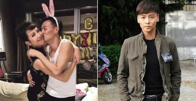 有传老婆蔡少芬[微博]有近亿元物业,正在拍摄新片《九龙不败》的张晋图片