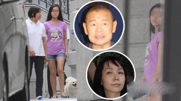 刘銮雄与吕丽君所生的14岁女儿刘秀盈