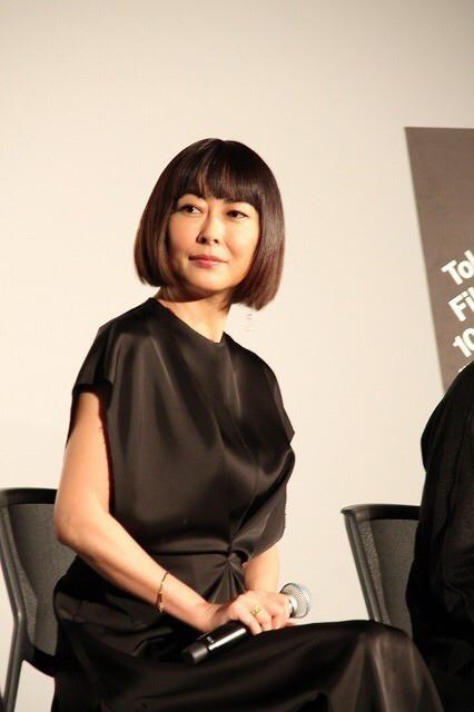 中山美穗参加东京国际电影节