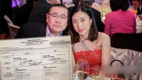 峰回路转!刘銮雄扶正甘比二人已申请结婚