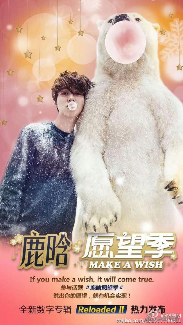 2015鹿晗愿望季主海报