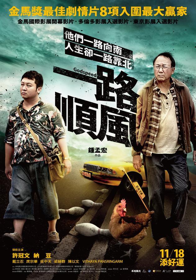 钟孟宏执导《一路顺风》