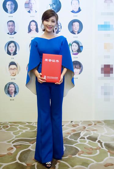 甘婷婷荣封公益大使 呼吁关爱自闭症儿童