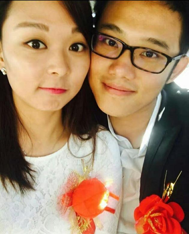 段丹峰与未婚夫潘奥(图)
