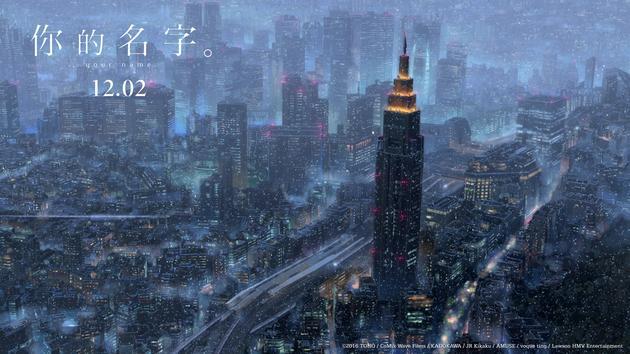 城市雪夜梦幻