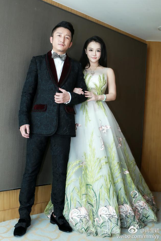 冉莹颖和丈夫邹市明