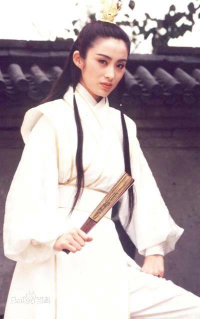 张敏在《倚天屠龙记》中饰演赵敏