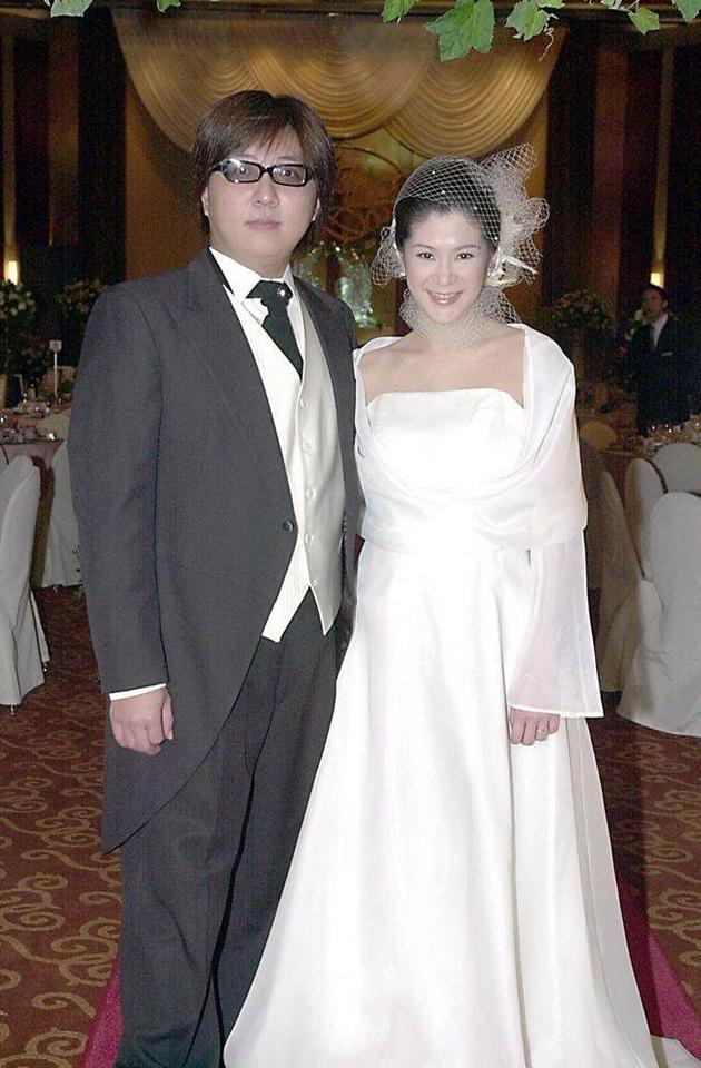 袁惟仁和妻子