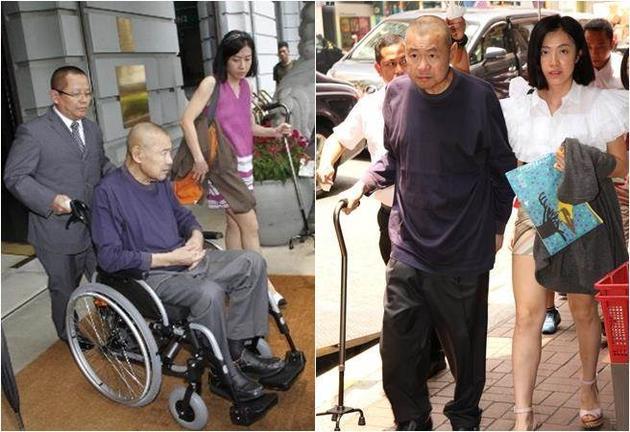 甘比刘銮雄正式签字结婚