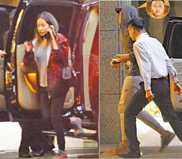 萧亚轩和小男友同穿情侣鞋回家