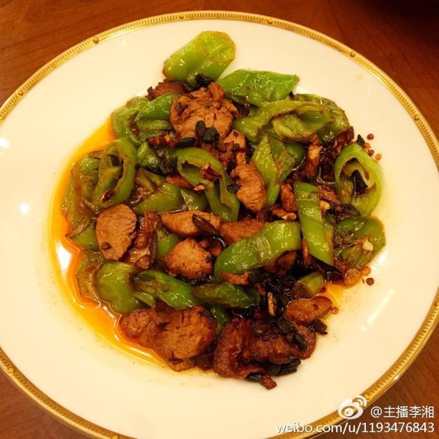 李湘晒王岳伦做菜