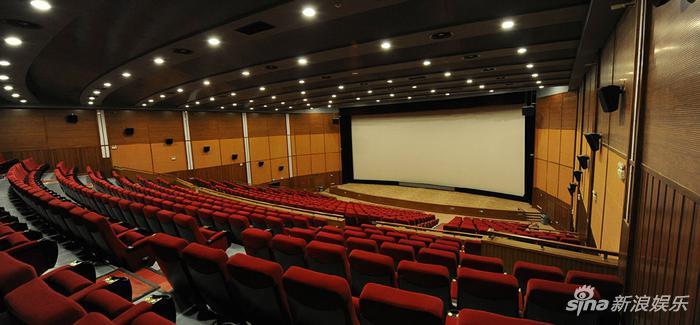 中国电影资料馆1号厅现场。