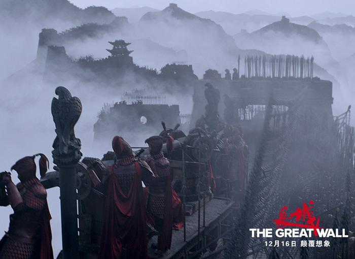 《长城》的场面