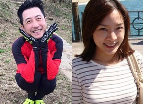 庾澄庆与妻子(资料图)