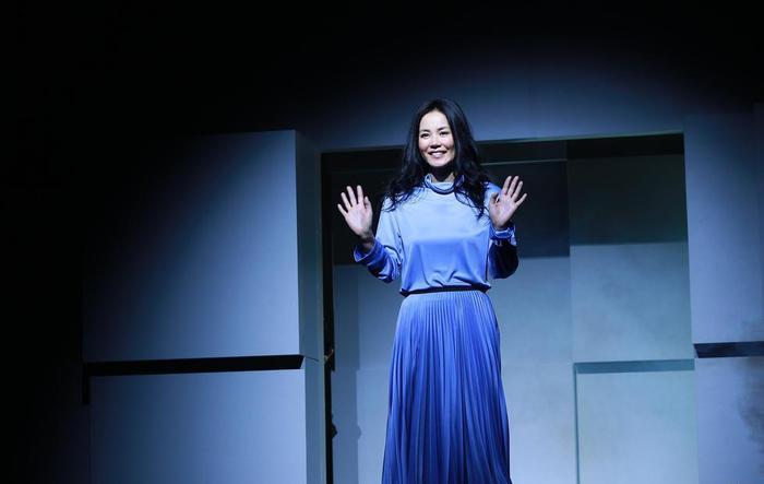 王菲亮相演唱会新闻发布会(资料图片)