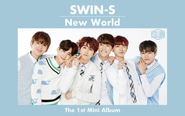 SWIN-S《New World》专辑封面