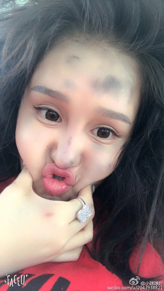 赵本山女儿灰头土脸
